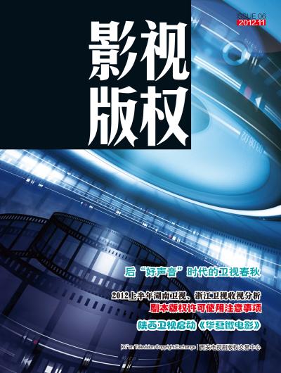 影视版权2012.11
